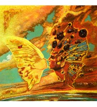 Картина из янтаря Бабочка (rb-09)