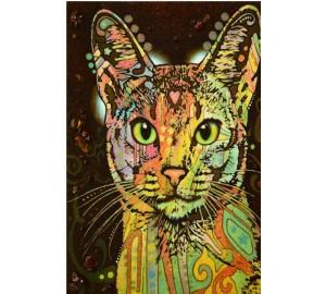 Картина из янтаря Кот (rb-19)