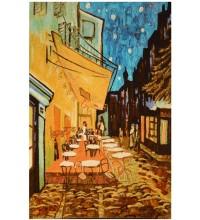 Картина з бурштину Літнє кафе (rb-14)