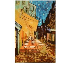 Картина из янтаря Летнее кафе (rb-14)