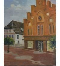 Картина Rathaus. Sarstedt (сч-23)