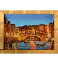 Картина з бурштином Венеція (rb-32)