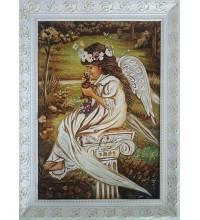Картина з бурштиновою крихтою Ніжність (rb-38)