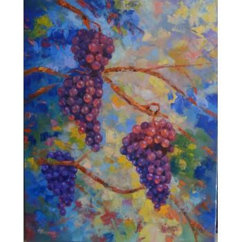 Картина Виноград (сч-26)