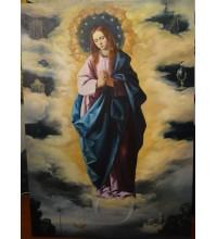 Непорочне зачаття - копия картины Франциско де Сурбарана эпохи Барокко (сч-41)