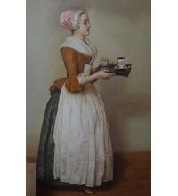 Шоколадниця - копія картини Жана Етьєна Леотара (сч-47)