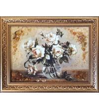 Бурштинова картина Троянди (rb-23)