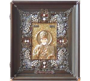 Николай Угодник - Эксклюзивная икона на подарок дорогому человеку (Ос-НК23)