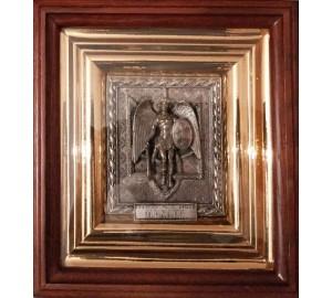 Архангел Михаїл - ексклюзивна ікона з українською символікою (ЮО-08)