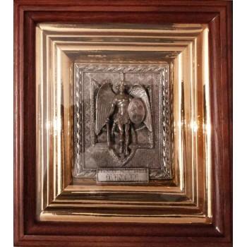 Архангел Михаил - эксклюзивная икона с украинской символикой (ЮЛ-08)