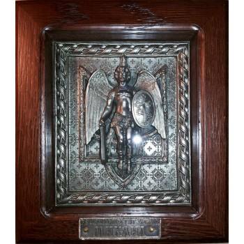 Архистратиг Михаил - эксклюзивная икона с украинской символикой (ЮЛ-11)