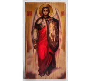 Икона под старину святой Архангел Михаил (ХМ-104)