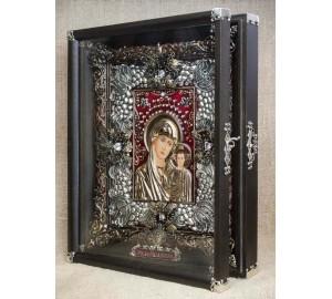 Казанская Божья Матерь - Красивая эксклюзивная икона на подарок (Ос-БКк23)
