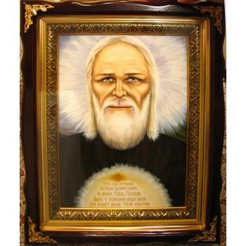 Агапіт Печерський - ікона писана (Гр-40)