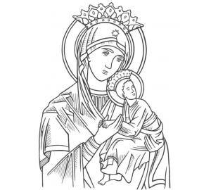 Ангел-Хранитель - греческая икона с серебром, позолотой и красивыми камнями Сваровски (STONE)