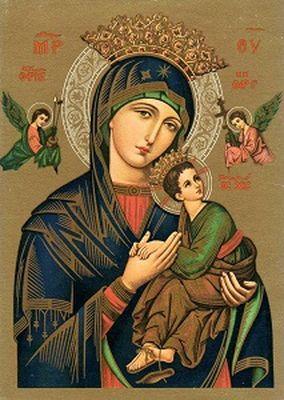 Иконы Божией Матери Неустанной Помощи